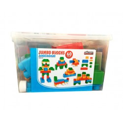 JUMBO BLOCKS 60PCS PILSAN