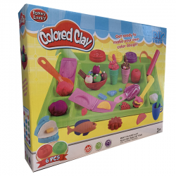 COLORED CLAY MOULDING