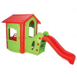 HAPPY HOUSE WITH SLIDE